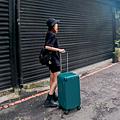 小胖箱推薦|23.5吋專為國內旅遊而生的行李箱孔雀綠 (8)