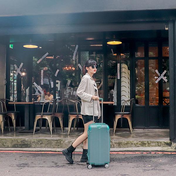 小胖箱推薦|23.5吋專為國內旅遊而生的行李箱湖水綠 (5)