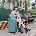 小胖箱推薦|23.5吋專為國內旅遊而生的行李箱湖水綠 (8)