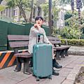 小胖箱推薦|23.5吋專為國內旅遊而生的行李箱湖水綠 (7)