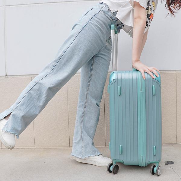 小胖箱推薦|23.5吋專為國內旅遊而生的行李箱湖水綠 (12)