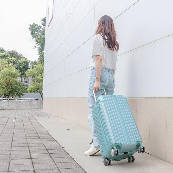 小胖箱推薦|23.5吋專為國內旅遊而生的行李箱湖水綠 (13)