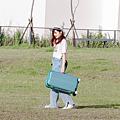 小胖箱推薦|23.5吋專為國內旅遊而生的行李箱湖水綠 (15)