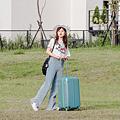 小胖箱推薦|23.5吋專為國內旅遊而生的行李箱湖水綠 (16)
