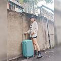 小胖箱推薦|23.5吋專為國內旅遊而生的行李箱湖水綠 (18)