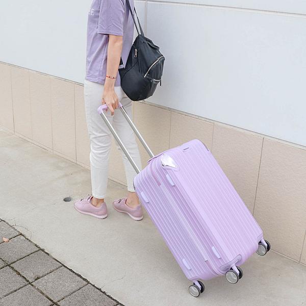 小胖箱推薦|23.5吋專為國內旅遊而生的行李箱紫 (5)