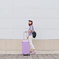 小胖箱推薦|23.5吋專為國內旅遊而生的行李箱紫 (7)