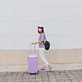 小胖箱推薦|23.5吋專為國內旅遊而生的行李箱紫 (6)