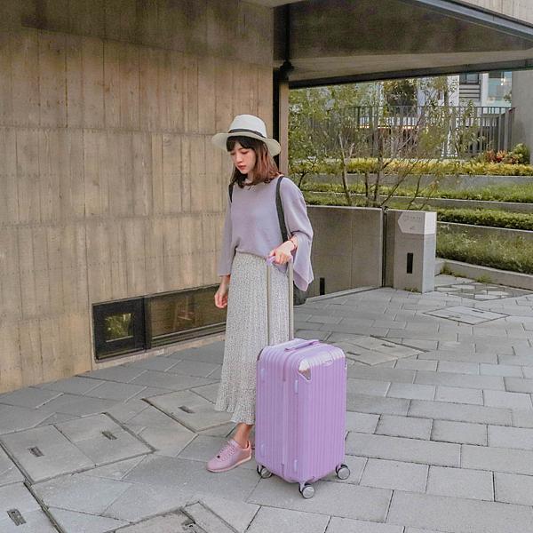 小胖箱推薦|23.5吋專為國內旅遊而生的行李箱紫 (12)