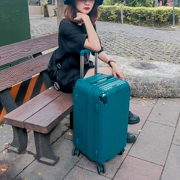小胖箱推薦|23.5吋專為國內旅遊而生的行李箱孔雀綠 (6)