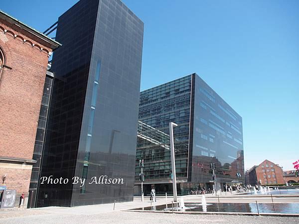 哥本哈根國立圖書館-黑鑽石