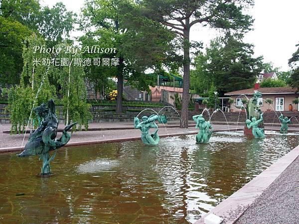 米勒花園精彩雕塑