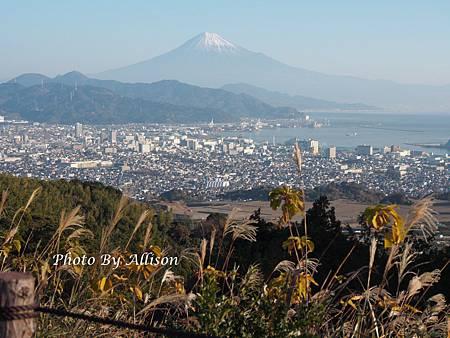 遠眺富士山英姿