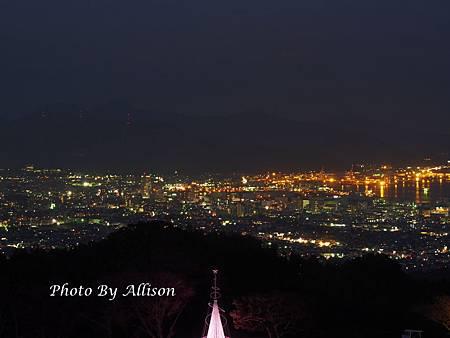日本平精品飯店夜景