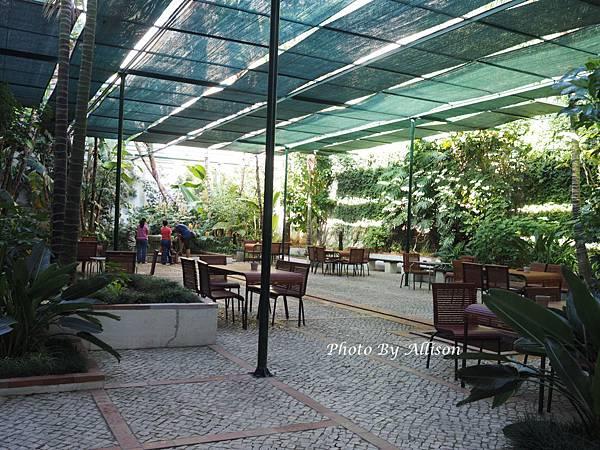 里斯本磁磚博物館花園
