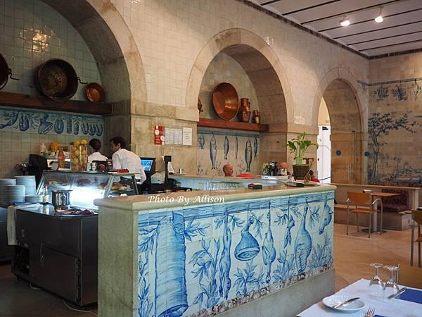 里斯本磁磚博物館咖啡廳