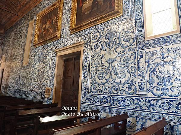 葡萄牙小鎮歐比都斯的修道院