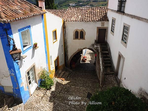 葡萄牙小鎮歐比都斯 雙窗