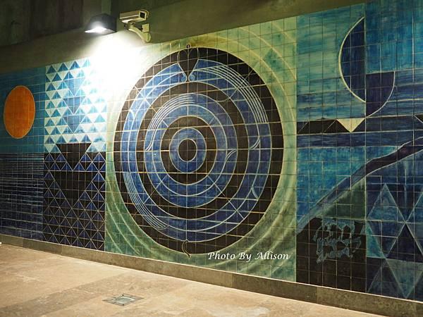 里斯本地鐵公共藝術