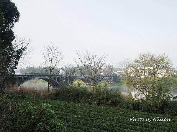 金竹飯店旁很有味道的橋