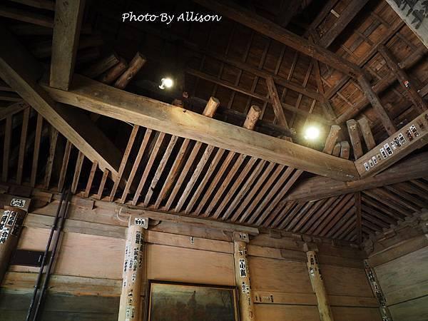 舊覆堂天花板