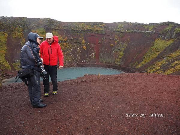 冰島火山口湖