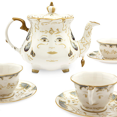 Beauty and the Beast Limited Edition Fine China Tea Set - Live Action Film.jpg