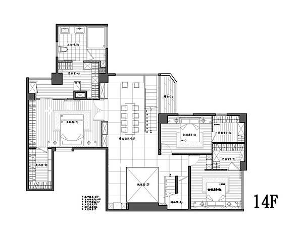 14樓平面圖-2-Model