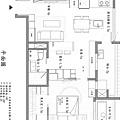 權釋設計-信義18號客餐廳1-1信義18號平面
