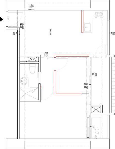 權釋設計-信義18號客餐廳1-1信義18號原始圖