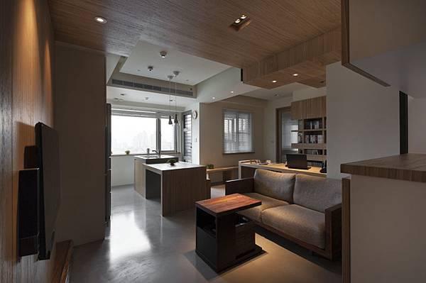 權釋設計-信義18號客餐廳1-1-客廳01