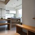 權釋設計-信義18號客餐廳1-1-廚房餐廳10