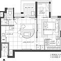 權釋設計-板橋超級F1-江公館 3D角度