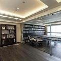 權釋設計規劃推薦新建案樣品屋新竹一品院豪宅住宅居家空間裝潢建材造型天花工程中古屋價格費用和室-3