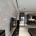 權釋設計規劃推薦新建案樣品屋新竹千荷田豪宅住宅居家空間裝潢建材造型天花工程中古屋價格費用客廳-01客廳-09