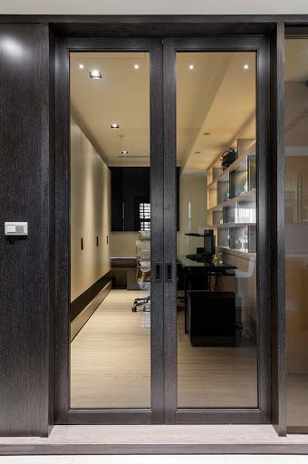 權釋設計規劃推薦新建案樣品屋新竹千荷田豪宅住宅居家空間裝潢建材造型天花工程中古屋價格費用客廳-01書房-2