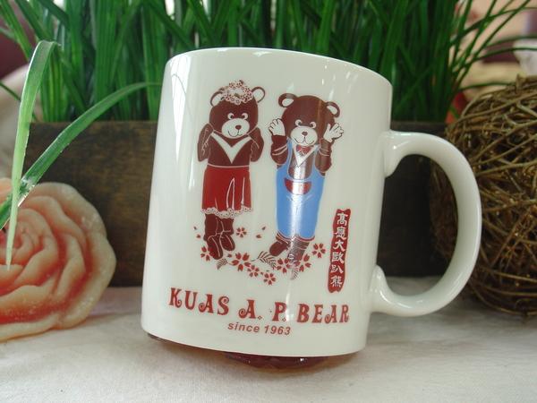 歐趴熊造型杯第一代