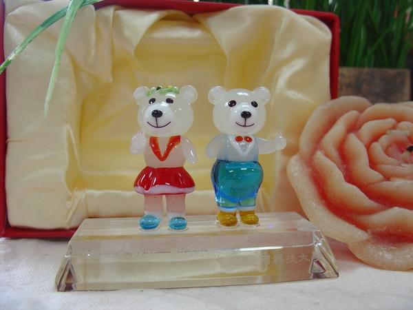 歐趴熊玻璃造型組1