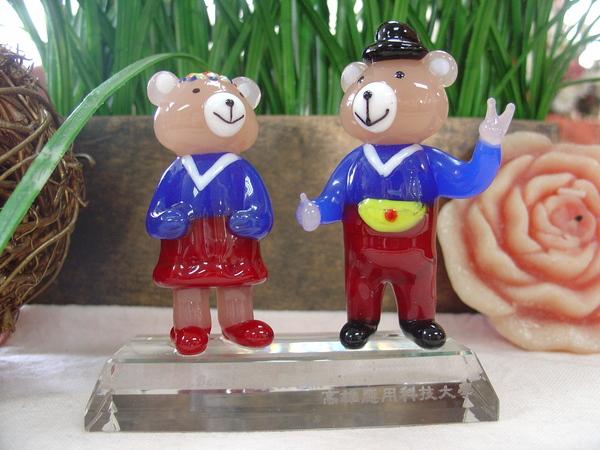 歐趴熊玻璃造型組2