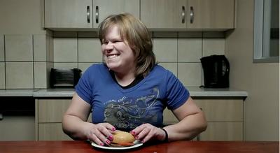 盲人點字漢堡