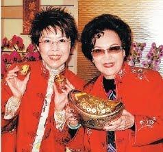 關菊英結婚