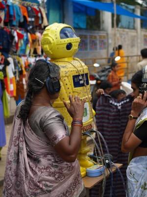 印度算命機械人