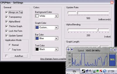 CPUMon 1.70 免安裝版