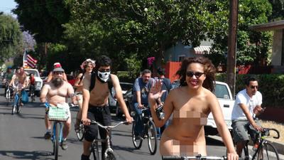 裸體自行車日【裸體自行車日 World Naked Bike Ride】