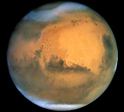 火星神秘地底洞穴