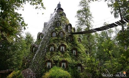 智利森林奇特旅館