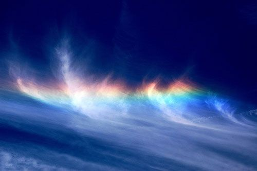 火彩虹 circumhorizon arc