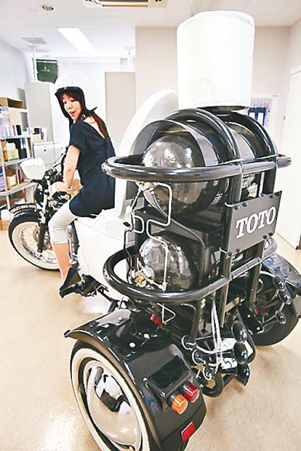 馬桶電單車