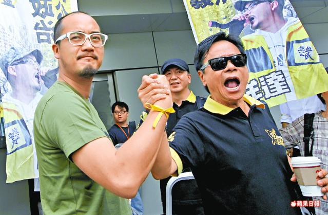 黃洋達不支持人民力量