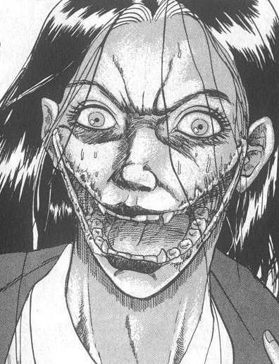 日本裂嘴女